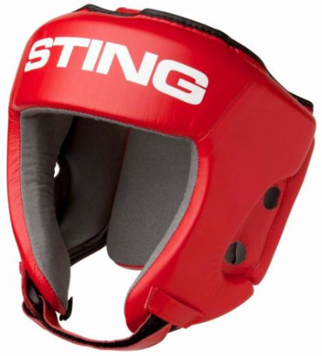 Sting AIBA Headguard - Red